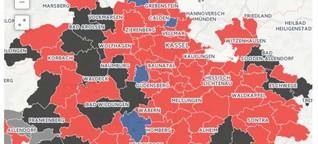 Kommunalwahl 2016 in Hessen: Alle Ergebnisse in Karten und Grafiken
