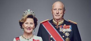 25. Thronjubiläum in Norwegen: Harald & Sonja: Eine große Liebe mit Hindernissen