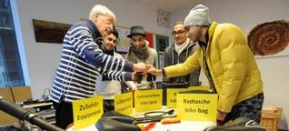 """""""Leverkusen macht Flüchtlinge mobil"""": Asylbewerber lernen in Opladen Verkehrsregeln für die fremde Stadt"""