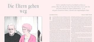 SZ Magazin, Nr 12, 24.03.2016 «Die Eltern gehen weg»