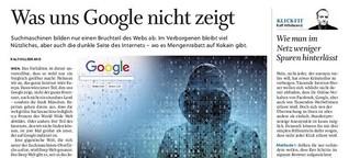 Was uns Google nicht zeigt