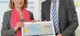 BVG spendet Geld an Stadtmission