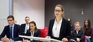 """""""Moot Court"""" für Jurastudenten: Härter als vor Gericht"""