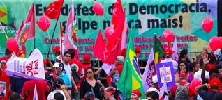 """Demonstrationen in ganz Brasilien: """"Nie wieder Putsch"""""""