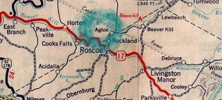 """""""Trap Streets"""" und """"Paper Towns"""": Wie erfundene Orte auf Google Maps landeten"""