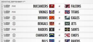 Was gibts Neues in der NFL?