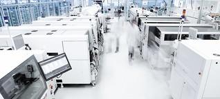 Mit Industrie 4.0 in die Zukunft