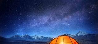 Camping: Draußen zu Hause