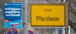AfD in Baden-Württemberg : Wo die rechten Wähler wohnen