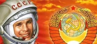 So feiert Russland im Netz seinen Nationalhelden Jurij Gagarin