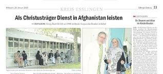 Als Christusträger in Afghanistan