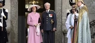 König Carl Gustaf von Schweden wird 70 | Sein Glück kam erst mit Silvia