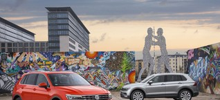 VW Tiguan erstrahlt in neuem Design - Auto News