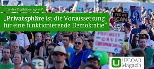 """Interview Digitalcourage e.V.: """"Privatsphäre ist die Voraussetzung für eine funktionierende Demokratie"""""""