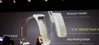 Huawei stellt Wearable Collection vor