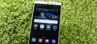 Huawei Mate S im Test: Spieglein, Spieglein...