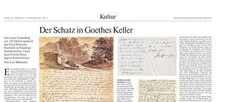 Der Schatz in Goethes Keller