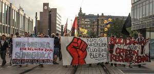 Solidarität mit Flüchtlingen in Heidenau