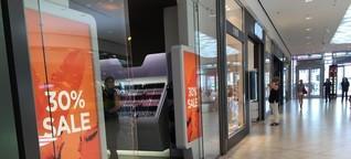 Ausverkauf das ganze Jahr: Koblenzer Handel leidet
