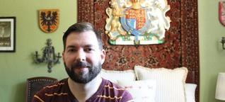 Michael Pörsch vermietet seine Zimmer an Menschen aus aller Welt