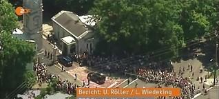Muhammad Alis Trauerfeier - ZDF heute journal