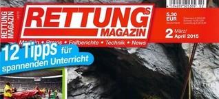 Rettungs-Magazin: Fortbildungen im Rettungsdienst