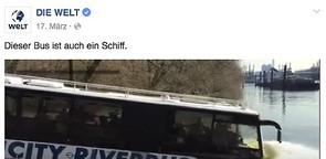 """Social-Video """"Dieser Bus ist auch ein Schiff"""""""