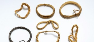 Prachtvolle Armbänder: Schatzsucher finden Riesen-Wikingerschatz