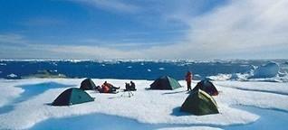 Grönland: Zelten auf einer Eisscholle