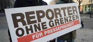 """Reporter ohne Grenzen: """"In Deutschland werden Journalisten überwacht"""""""
