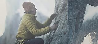 Natürlich klettern: Simon Gietl riskiert alles