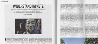 Widerstand im Netz