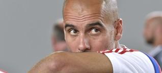 Pep Guardiola experimentiert bei der Taktik des FC Bayern