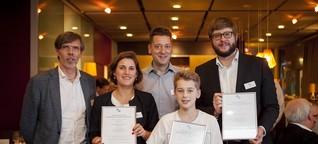 """1. Preis für """"Mammographie auf dem Prüfstand"""" von Franziska Walser"""