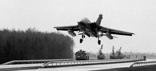 Abflug von der A7: Was wurde aus den Notlandeplätzen des Kalten Krieges