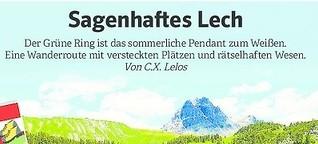 Sagenhaftes Lech - Reisejournal WAZ