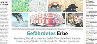 Gefährdetes Erbe -  Reisejournal WAZ