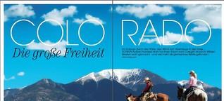 Große Freiheit Colorado – im Galopp durch die Prärie