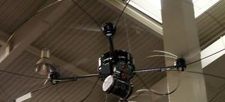 Fliegender Spürhund - Drohne soll vermisste Menschen finden