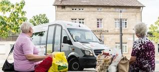 Ein ehrenamtlicher Shuttle-Service namens Bürgerbus