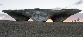 """Das Madrider Studio Ensamble baut ein """"Stonehenge der Neuzeit"""""""