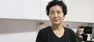 Eine Altenpflegerin in Japan