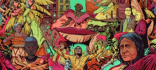 Afrokolumbianische Beats aus New York City