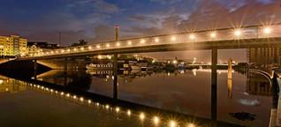 Neue Brücken: Hafeninsel rückt immer näher