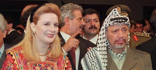 Arafat-Museum in Ramallah eröffnet: Vier Uniformen und eine Gasmaske