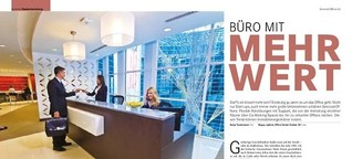 Büro mit Mehrwert: Serviced Offices