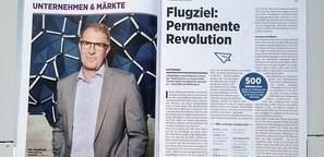 Carsten Spohr, CEO Lufthansa / Für Wirtschaftswoche