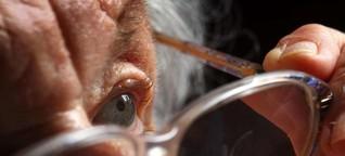 Sehprobleme im Alter: Das kann ein Zeichen für AMD sein