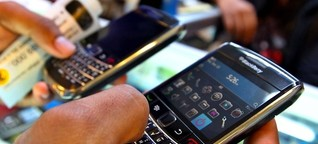 Smartphones: Oh, mein Blackberry!
