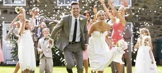 Heiraten 2015: Gut geplant ist viel gespart!